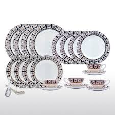 Patterned Dinnerware Sets Best Decorating Ideas