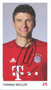 Kelocks Autogramme   Thomas Müller 2015/2016 FC Bayern München Fußball  Autogrammkarte original signiert
