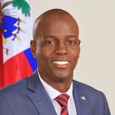 Haitian President Jovenel Moise on ...