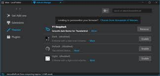 Install Themes To Change The Look Of Thunderbird How To