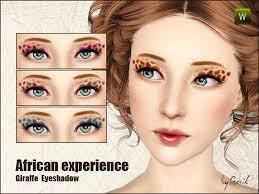 makeup gosik 39 s african experience giraffe eyeshadow