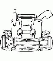 Gratis Tractor Tom Kleurplaten Voor Kinderen