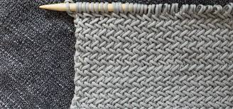 Herringbone Knitting Pattern
