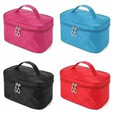 <b>4 colors portable</b> makeup cosmetic case storage handbag travel bag ...