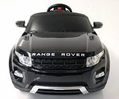 Kids Electric Car Range Rover Evoque Black Range Rover