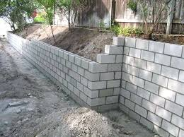 building blocks for garden walls awesome build concrete retaining wall awesome cost of building a breeze block garden wall