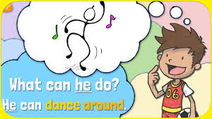 Verb Action Learn Action Verbs For Kids What Can S He Do