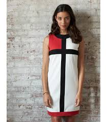 Best Women S Cotton Pique Color Block Dress Made In Usa Ramblers Way