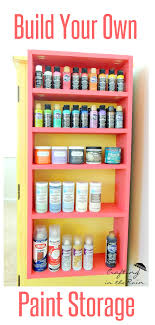 diy craft room storage