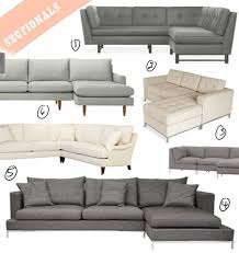 the hunt for the perfect sectional