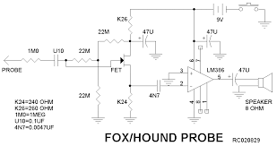 fox hound sniffer project Greenlee Circuit Seeker Wire Tracer Circuit Diagram #11