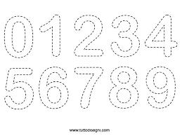 Scheda Didattica Di Pregrafismo Numeri Da Colorare Idee Per La
