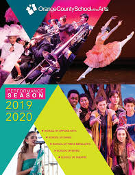 2019-2020 Performance Program by Orange County School of the Arts - issuu