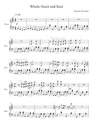 4, and lyrics song heart and soul sheet music pdf hoagy carmichael free download. Whole Heart And Soul Sheet Music For Piano Solo Musescore Com