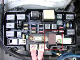 wtb 96 00 civic electrical load detector eld 1 fuse from fuse note this is not a 96 00 civic fusebox but that is how it looks