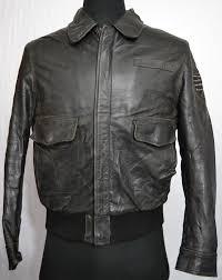 zara jeans men s type a 2 flight leather jacket u x 30 1 6 kg