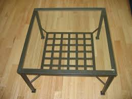 square ikea glass coffee table