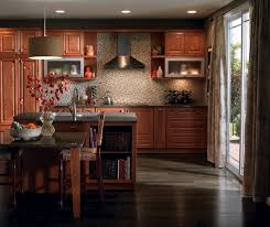 cherry cabinets in casual kitchen by diamond cabinetry diamond kitchen cabinets reviews