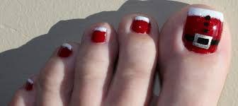 Easy Christmas Designs For Your Nails 30 Best And Easy Christmas Toe Nail Designs Christmas