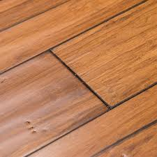 cali bamboo fossilized 5 in distressed mocha bamboo solid hardwood flooring 19 91 sq