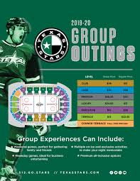 Group Tickets 2018 19 Texas Stars