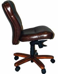 armless leather chairs. Brown Leather Armless Desk Chair Chairs