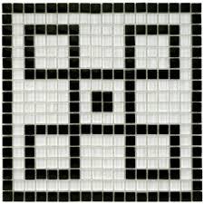 merola tile tessera ice white greek key 11 3 4 in x 11