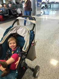 strollers are essential for travel with toddlers
