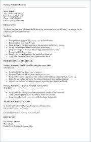 Free Cna Resume Builder Best Of Cna Resume Samples Luxury Free Enchanting Free Cna Resume Builder