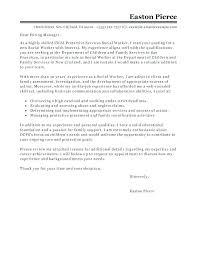 Cover Letter Online Cover Letter Social Services Cover Letter Social Services Cover