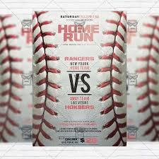 Free Baseball Flyer Template Baseball Game Premium Flyer Template Instagram Size Flyer
