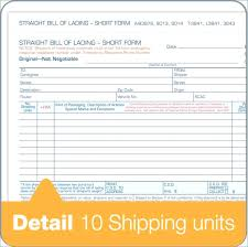 Online Bill Of Lading Form Other Size S Uniform Bill Of Lading Template Original Sample Resumes