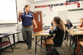 blue valley expands new teacher mentoring other kansas districts new teacher mike besler gets a full time mentor in his new job at blue valley west high school
