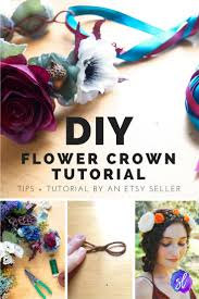 flower crown diy tutorial how to make your own flower crowns