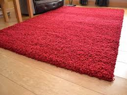 details about dark red small extra large size 5cm soft thick pile plain gy long runner rug