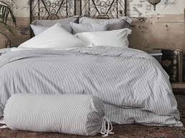 cotton yarns in a twill weave our tick fabric was inspired by vintage mattress ticking historically this fabric was used as the casing for mattresses