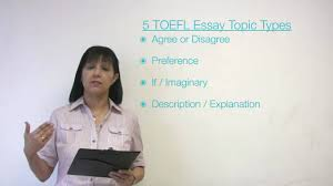 toefl essay types essay patterns
