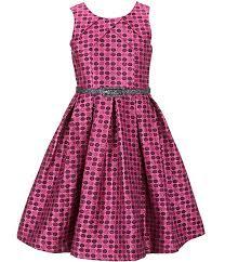 Bonnie Jean Big Girls Plus Size Sleeveless Dot Metallic Brocade Holiday Party Dress 7 16