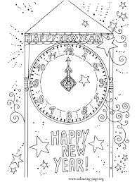 Small Picture New Year New Year countdown coloring page