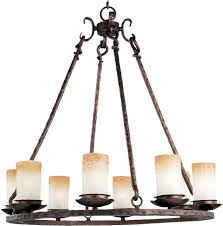 notre dame notre dame 8 light chandelier