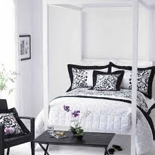 Perfect Black And White Bedroom Ideas For Young Adults L On Simple Design