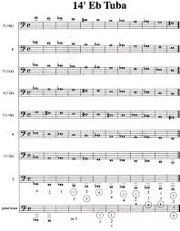 F Tuba Finger Chart Microtones On Wind Instruments