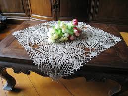 table cloth lace table crochet tablecloth