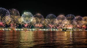 Carnival Of Light Nye Amazing Fireworks Rio De Janeiro On New Years Eve Albom