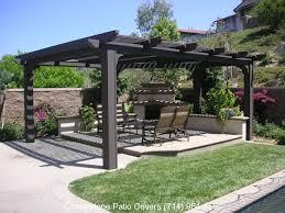 free standing patio roof best 10 carport patio ideas free standing pergola kits