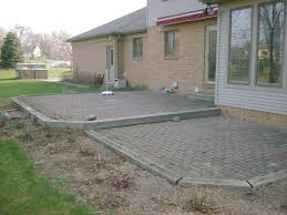 delighful design garden ideasold neglected paver patio layout design ideas vademebt pictures pavers and block outdoor to s