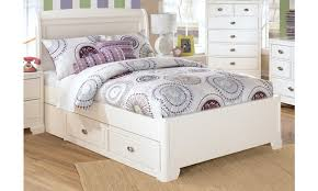 image of nuance white full size bed