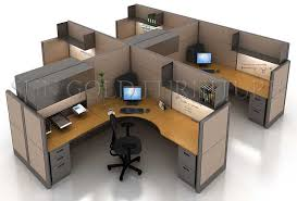 Design Layout Open Space Modern Office Workstation in Different Options  (SZ-WS158) pictures