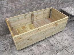 make a garden planter from decking