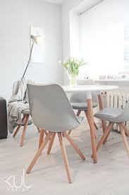 skandynawski styl z odrobiną retro dining tabledining roomsdining